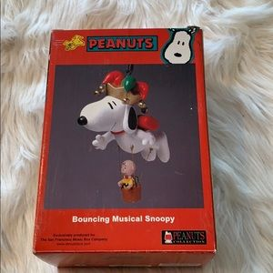 Peanuts Other - Peanuts Vintage Bouncing Musical Snoopy in EUC